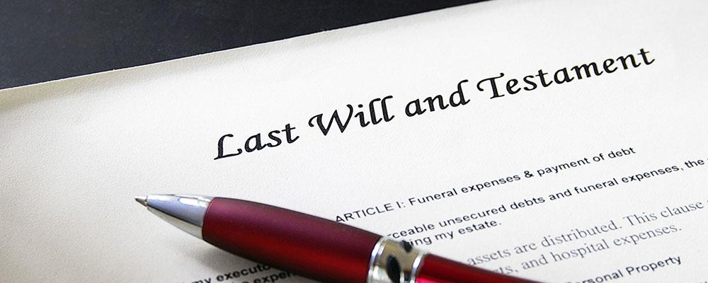 Winfield wills and trusts attorney